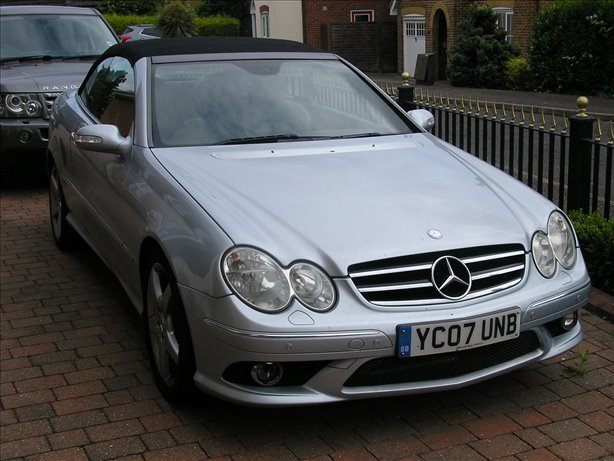 2007 (07) Mercedes-Benz CLK 280 Sport Convertible With AMG Body Styling 6 Month Guarantee